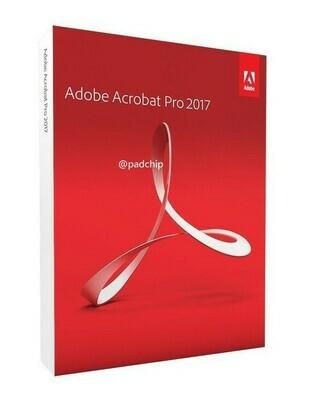 Adobe Acrobat Pro Professional 2017