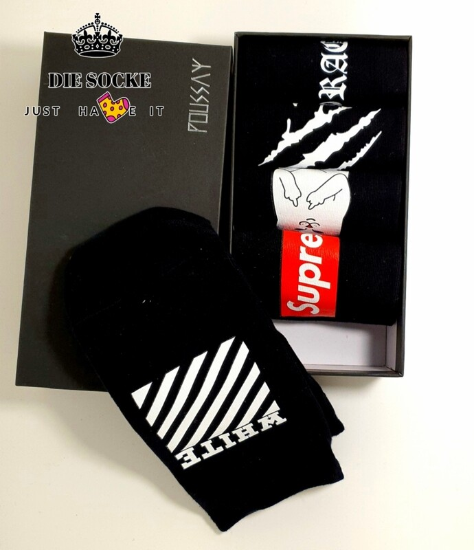 Black&White hype Socken Set (5 Stück)