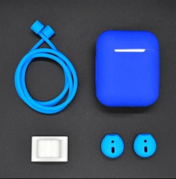 AirPods 1,2 Hülle (Blau)