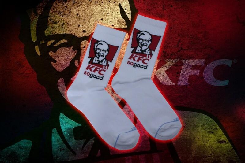 KFC Socken 🧦 🍗