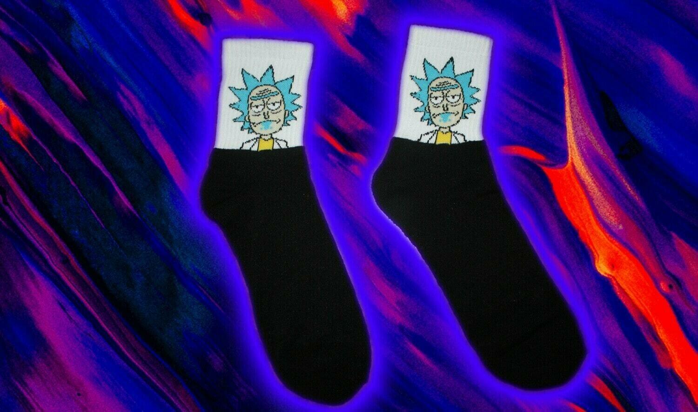 Rick and Morty Midi Socken 💚🧦