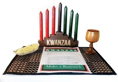 Kwanzaa Kinara Set