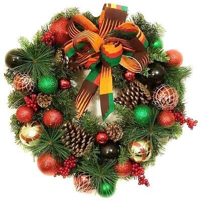 Kwanzaa Wreath 21.5