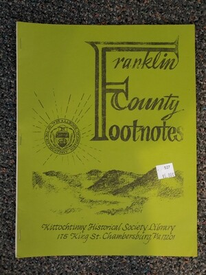 Franklin County Footnotes 1982 (KHS)