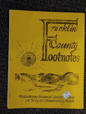 Franklin County Footnotes 1983 (KHS)