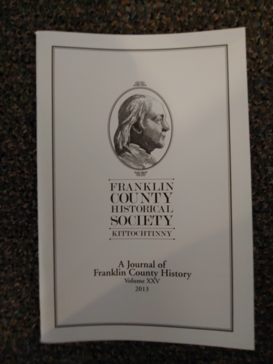 Franklin County Historical Society Journal 2013
