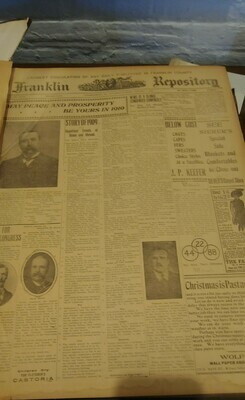 Franklin Repository 1910 Large Binder