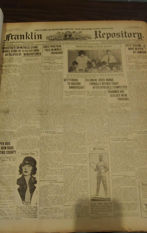 Franklin Repository 1926 Large Binder