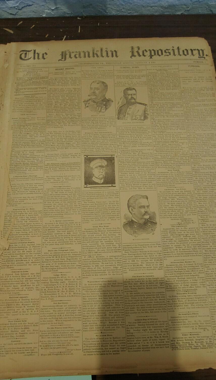 Franklin Repository 1899