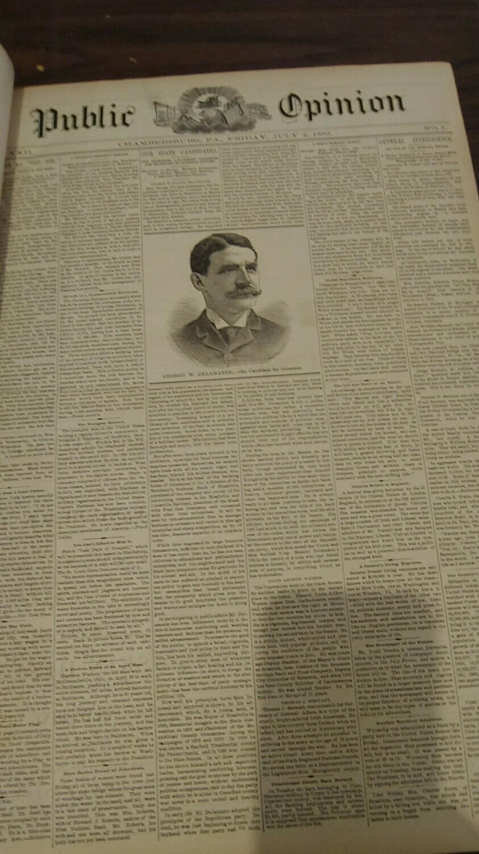 Public Opinion 1890-1891