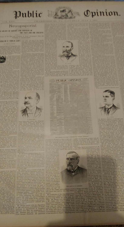 Public Opinion 1893-1894