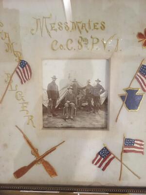 Camp Alger Sp Am War Photo