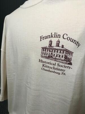 Tee Shirt FCHS/Kittochtinny Cream (XL)