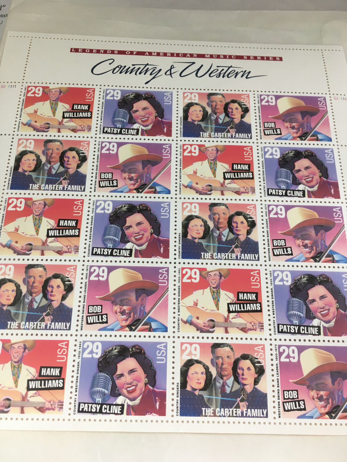 Country Music Stamps