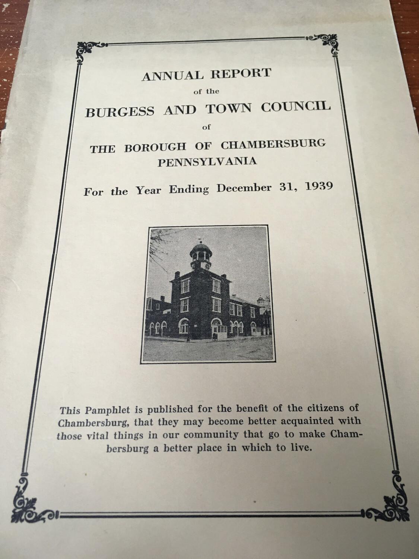 Annual Report 1939