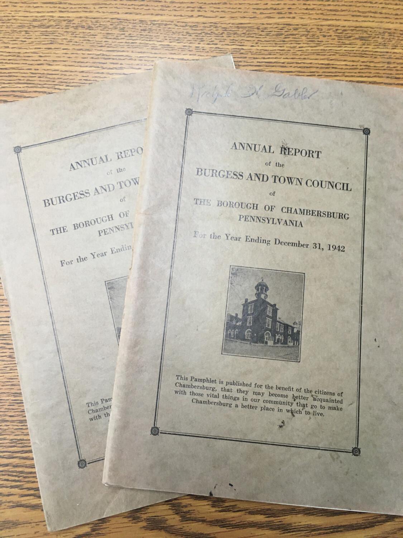 Annual Report 1942
