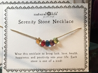 Natural Life Serenity Stone Necklace
