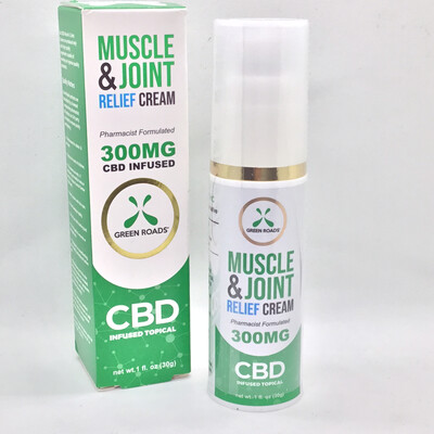 CBD Muscle And Joint Cream 300mg