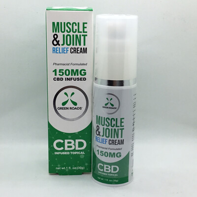 CBD Muscle And Joint Cream 150mg