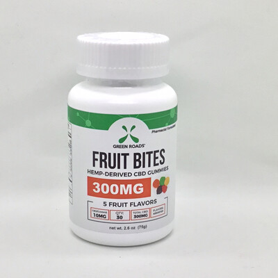 CBD Fruit Bites Gummies 300mg