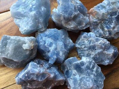 Blue Calcite Rough