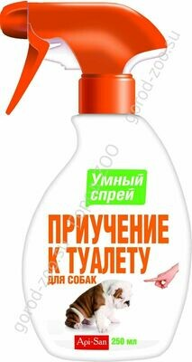 Спрей Умный Приучение к туалету д/собак200мл