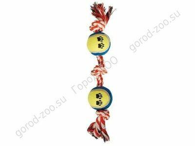 Грейфер веревка  цв.3уз.2мяча  XJ0070 15