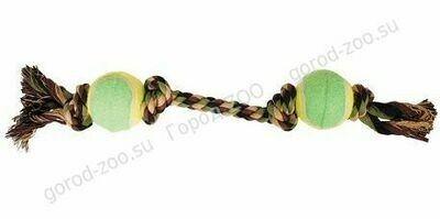Грейфер веревка  цв.4уз.2мяча  XJ0067 20