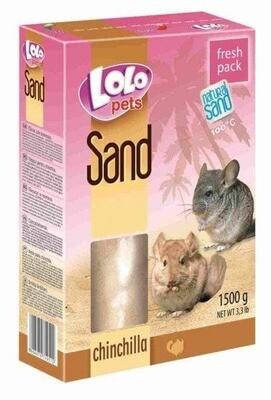 Лоло петс LoLo Pets песок д/шиншилл 1,5кг