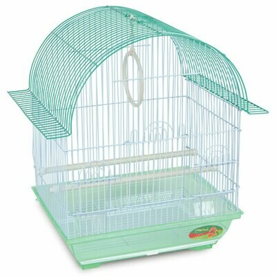 Триол Клетка д/птиц №1600(цвет) 34,5*26*44 TRIOL