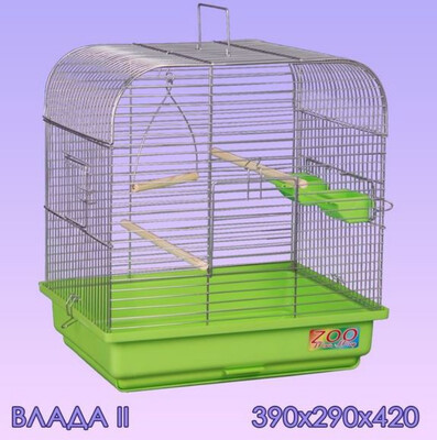 Клетка д/птиц ВЛАДА-2 бол поддон