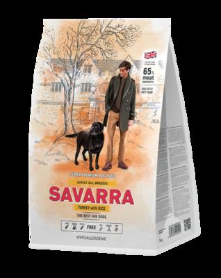 Савара SAVARRA д/собак индейка/рис 1кг