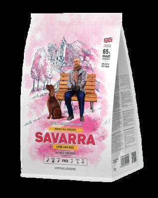 Савара SAVARRA д/собак ягненок/рис 1кг