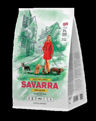 Савара SAVARRA д/собак мелких пород утка/рис 1кг