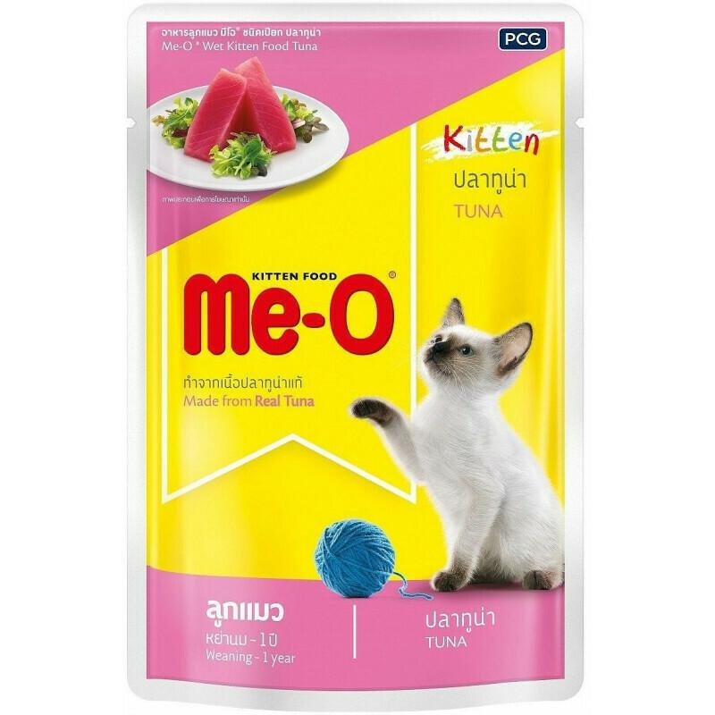 Мео Me-O влаж.д/котят 80г тунец желе №2