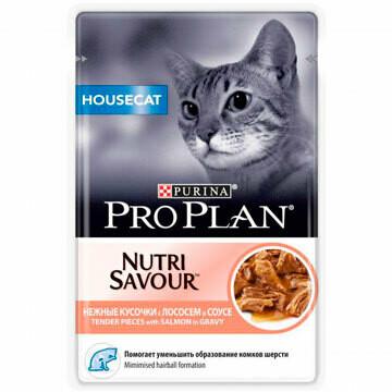 ПроПлан 85г д/кошек домашних Лосось