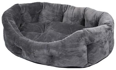 Лежак овальный с подушкой Zоо-М