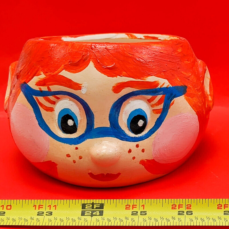 Planters or Pencil Holder Paint your own DIY figurine plaster Art Craft activity