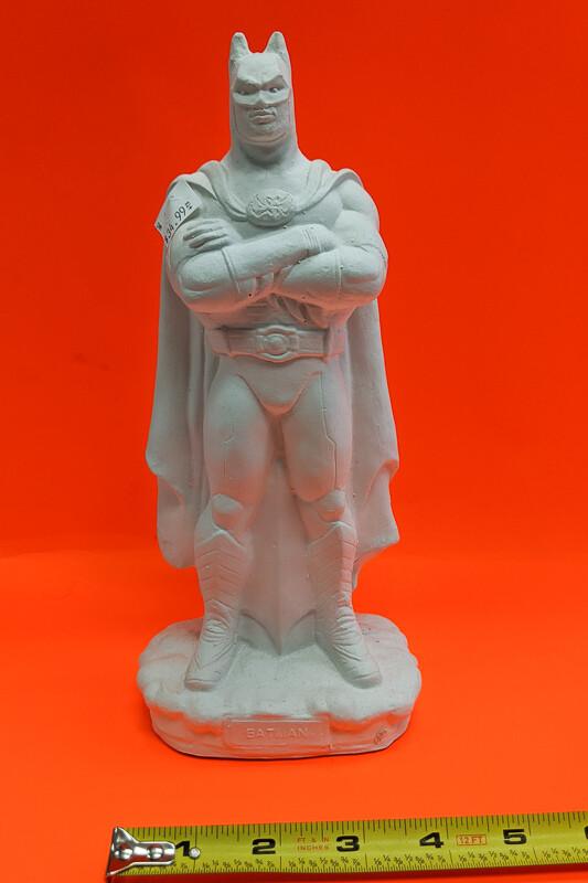 Batman to paint your own DIY plaster figurine Art Craft activity