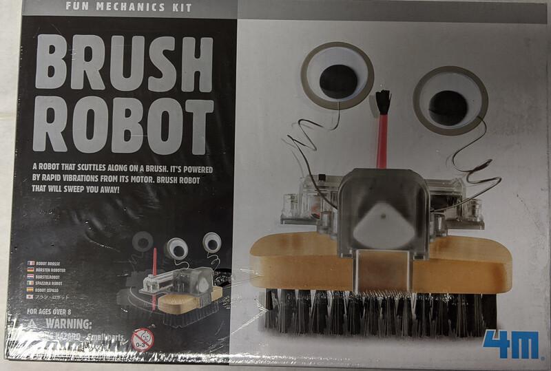 4M Brush Robot Fun Mechanics Kit
