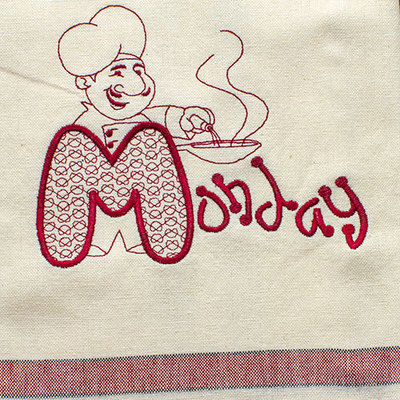 Monday (Dish Towel)
