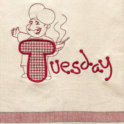 Tuesday (Dish Towel)