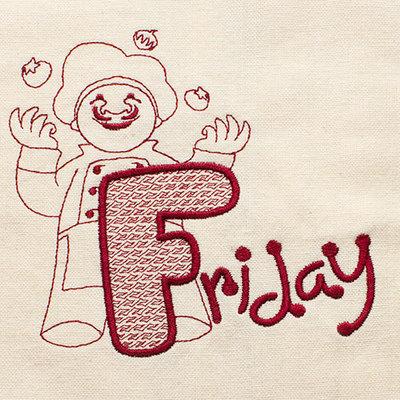 Friday (Dish Towel)