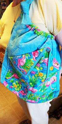 Flamingo Hobo Bag