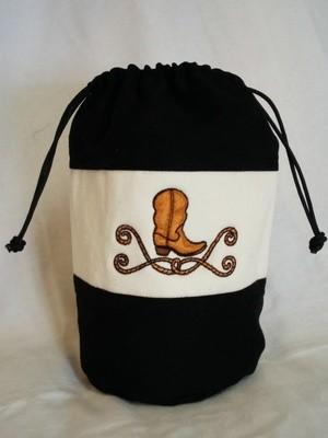 Cowboy Boot CatchAll Bag