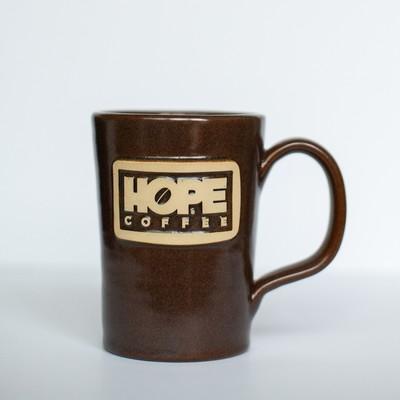 HOPE Coffee 12 oz Handcrafted Stoneware Mug - Abby Style