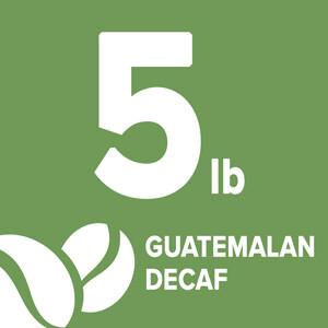 Guatemalan Decaf - 5 Pound Bag