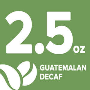 Guatemalan Decaf - 2.5 Ounce Wholesale Labeling starting at: