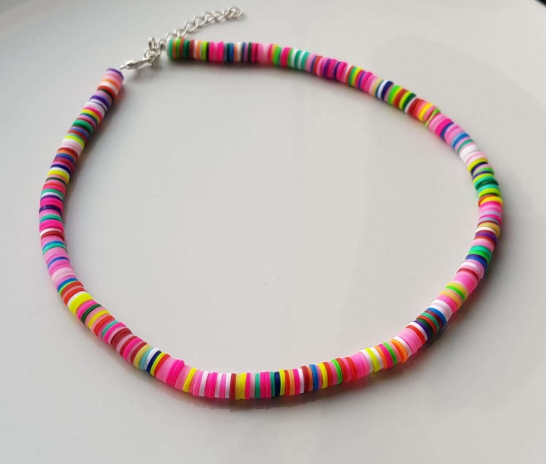 Colorful choker gekleurd