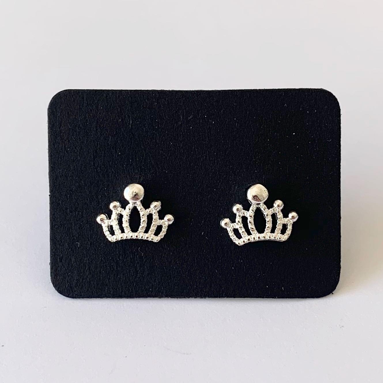 Crown knopjes 925 sterling zilver